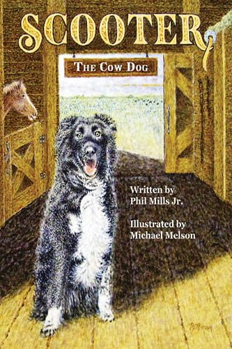 Scooter the Cow Dog Book Cover